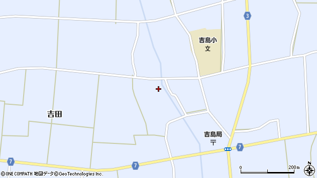 山形県東置賜郡川西町吉田3555周辺の地図