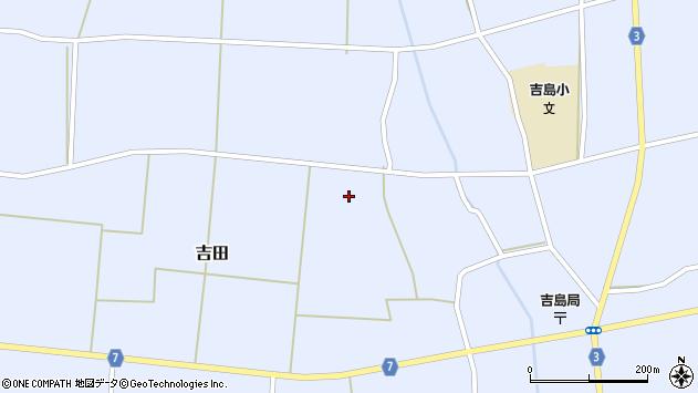 山形県東置賜郡川西町吉田東方周辺の地図