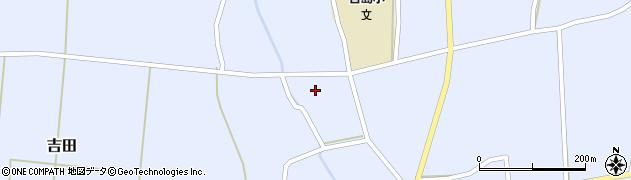 山形県東置賜郡川西町吉田3611周辺の地図