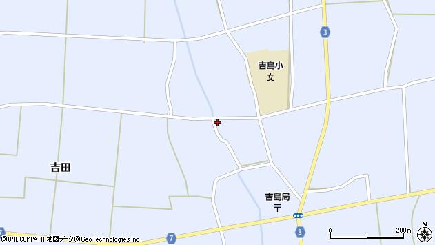 山形県東置賜郡川西町吉田周辺の地図