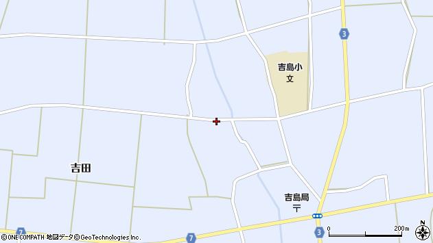 山形県東置賜郡川西町吉田3558周辺の地図