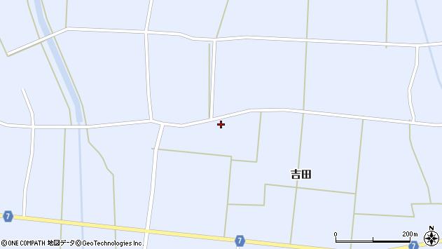 山形県東置賜郡川西町吉田2873周辺の地図