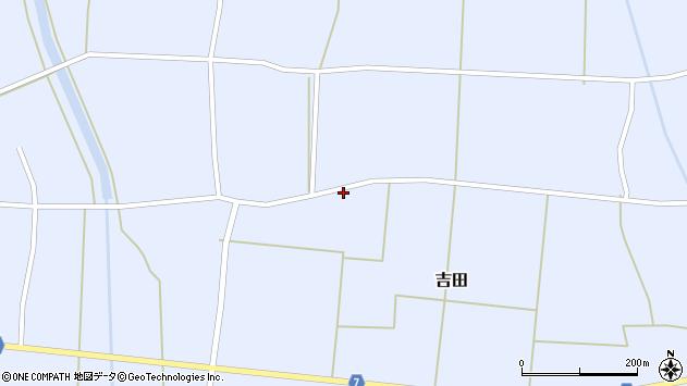 山形県東置賜郡川西町吉田2864周辺の地図