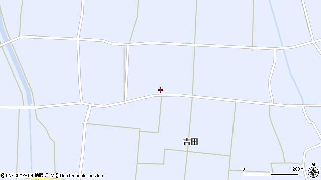 山形県東置賜郡川西町吉田3443周辺の地図