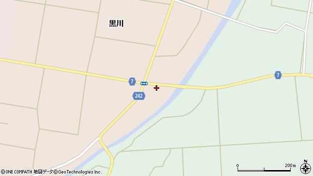 山形県東置賜郡川西町黒川314周辺の地図