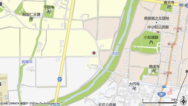山形県東置賜郡川西町下小松2480周辺の地図
