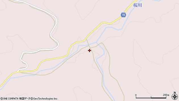 山形県西置賜郡小国町白子沢688周辺の地図