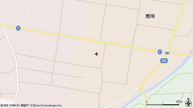 山形県東置賜郡川西町黒川554周辺の地図