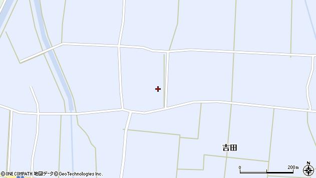 山形県東置賜郡川西町吉田北方周辺の地図
