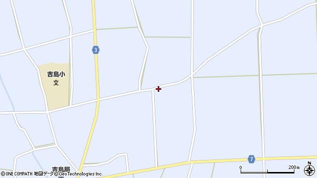 山形県東置賜郡川西町洲島427周辺の地図