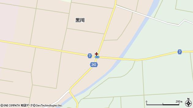山形県東置賜郡川西町黒川283周辺の地図