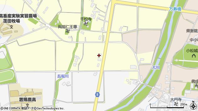 山形県東置賜郡川西町下小松2493周辺の地図