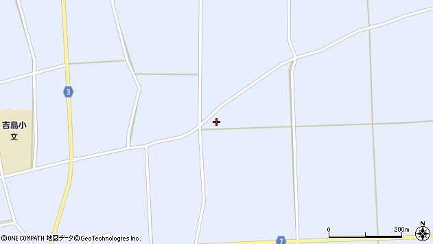 山形県東置賜郡川西町洲島436周辺の地図