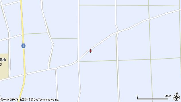山形県東置賜郡川西町洲島454周辺の地図