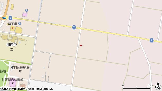 山形県東置賜郡川西町中小松2559周辺の地図