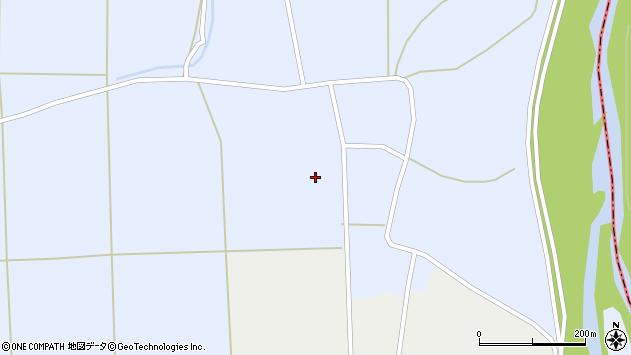 山形県東置賜郡川西町洲島上洲島周辺の地図