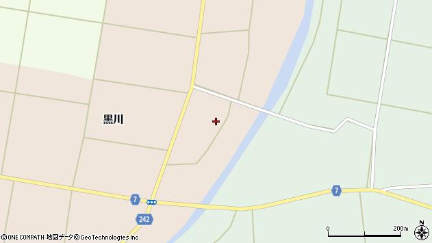 山形県東置賜郡川西町黒川298周辺の地図