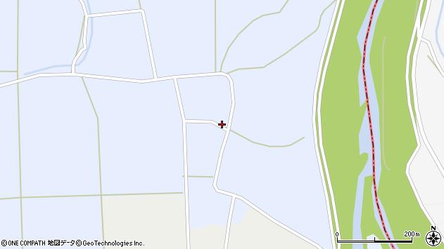 山形県東置賜郡川西町洲島640周辺の地図