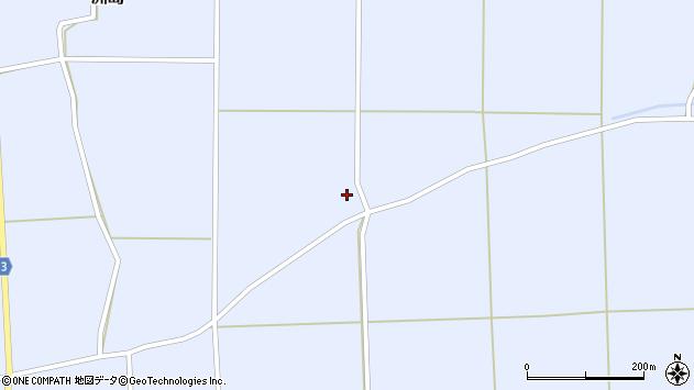 山形県東置賜郡川西町洲島2290周辺の地図
