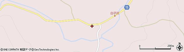 山形県西置賜郡小国町白子沢458周辺の地図