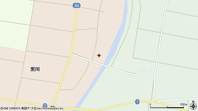 山形県東置賜郡川西町黒川129周辺の地図