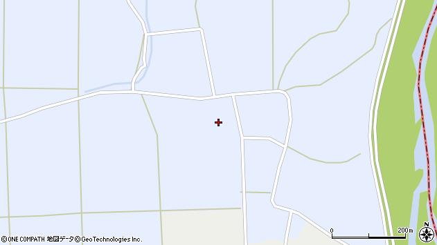 山形県東置賜郡川西町洲島972周辺の地図