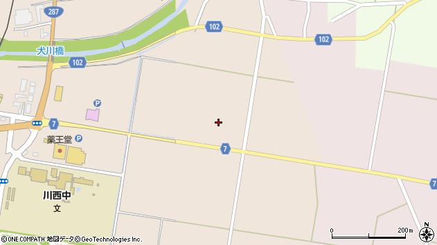 山形県東置賜郡川西町中小松2684周辺の地図