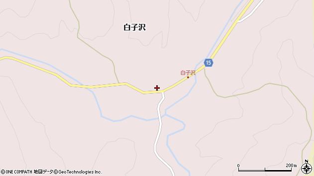 山形県西置賜郡小国町白子沢475周辺の地図