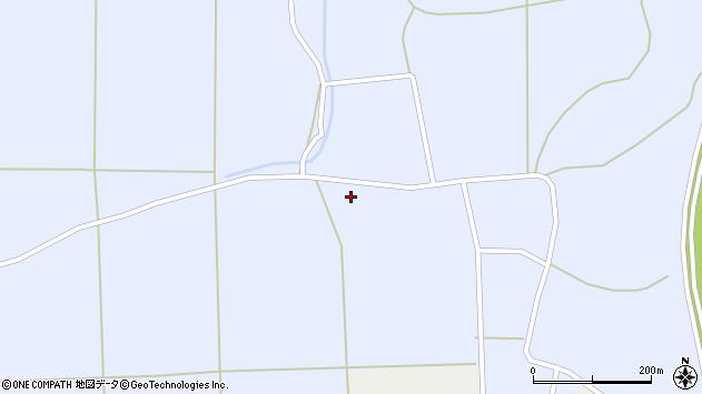 山形県東置賜郡川西町洲島936周辺の地図