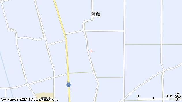 山形県東置賜郡川西町洲島2429周辺の地図