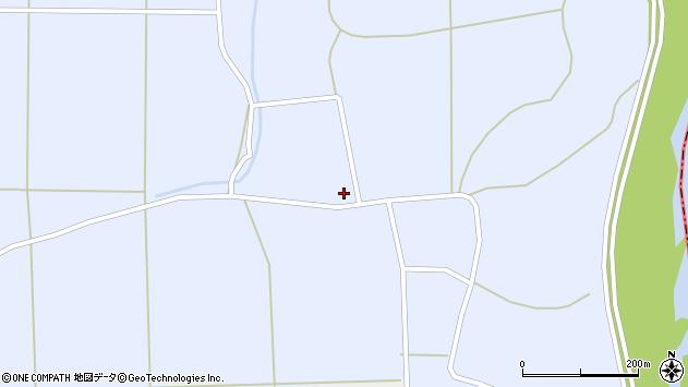 山形県東置賜郡川西町洲島1435周辺の地図