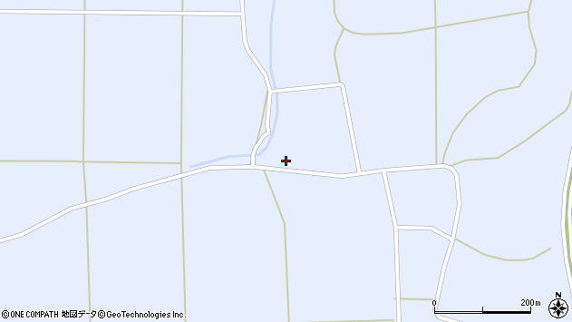 山形県東置賜郡川西町洲島945周辺の地図