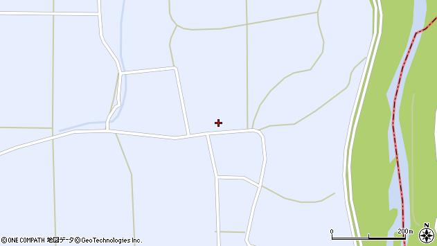 山形県東置賜郡川西町洲島1412周辺の地図