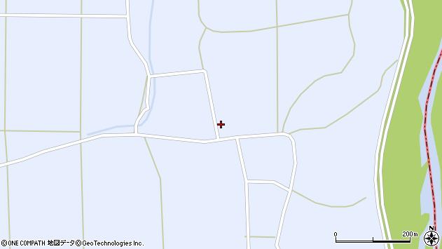 山形県東置賜郡川西町洲島1421周辺の地図