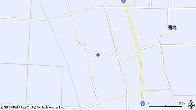 山形県東置賜郡川西町洲島2925周辺の地図