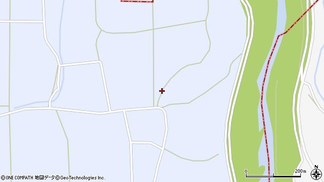 山形県東置賜郡川西町洲島1062周辺の地図