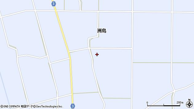 山形県東置賜郡川西町洲島2431周辺の地図