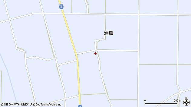 山形県東置賜郡川西町洲島6420周辺の地図