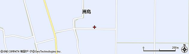 山形県東置賜郡川西町洲島2848周辺の地図