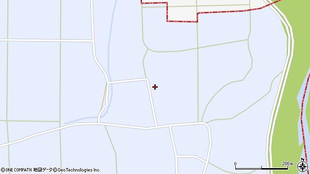 山形県東置賜郡川西町洲島1428周辺の地図