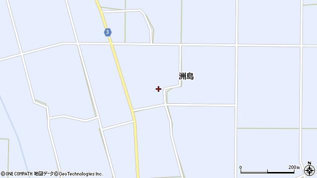 山形県東置賜郡川西町洲島2972周辺の地図