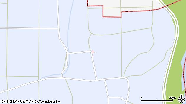 山形県東置賜郡川西町洲島1430周辺の地図