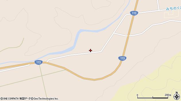 山形県東置賜郡高畠町二井宿弁天前周辺の地図