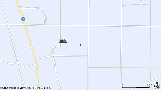 山形県東置賜郡川西町洲島2457周辺の地図