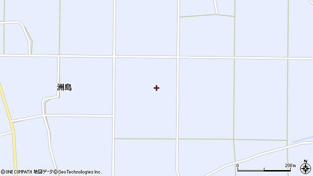 山形県東置賜郡川西町洲島2776周辺の地図