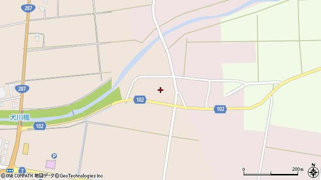 山形県東置賜郡川西町中小松2347周辺の地図