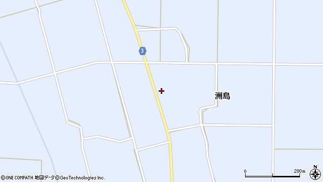 山形県東置賜郡川西町洲島6699周辺の地図