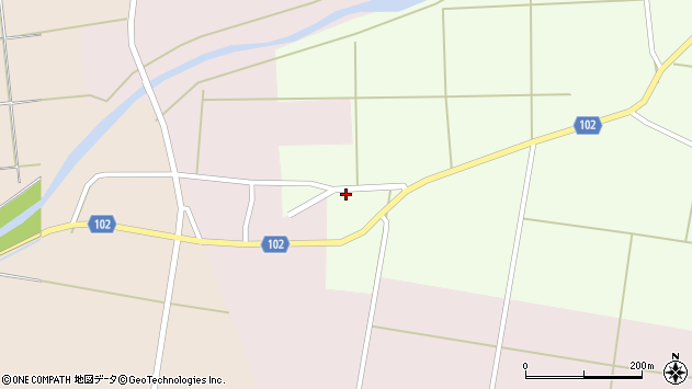 山形県東置賜郡川西町高豆蒄156周辺の地図