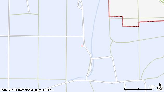 山形県東置賜郡川西町洲島2064周辺の地図