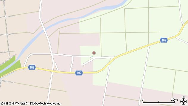 山形県東置賜郡川西町高豆蒄158周辺の地図